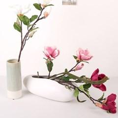 고속터미널꽃시장 목련 조화 71cm 시들지않는꽃_(375793)