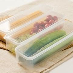 냉장고 정리 파스타 면 밀폐 용기 투명 보관함