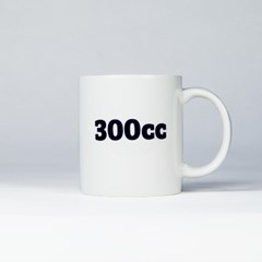 300cc mug blue / 눈금 머그