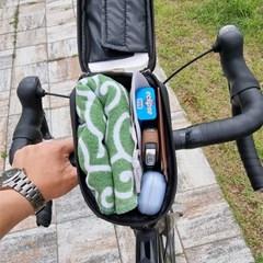 OMT 자전거 풀커버 대형 휴대폰 소품 수납가방 핸들거치백