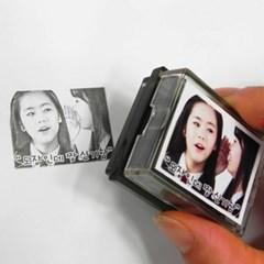 공식굿즈 제작사에서 셀프굿즈 만들기_얼굴 사진 포토스탬프 도장