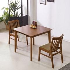 체스트넛 주방 테이블 2인 식탁 세트