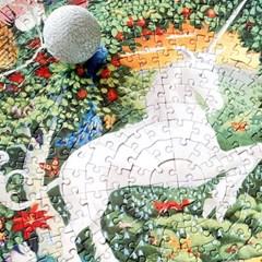 [이부] 유니콘 정원 500피스 라운드 퍼즐