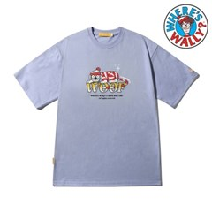 [MNBTH x Where is Wally?] Woof T-shirt(LAVENDER)