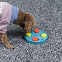 노즈워크 강아지 장난감회전 스트레스해소 턴테이블