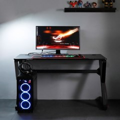 엘리브 리프 PC 게이밍 컴퓨터 책상 1200 K형 ch060