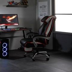 엘리브 푸시 PC 컴퓨터 게이밍 의자 ch063