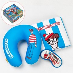 [MNBTH x Where is Wally?] Travel Package(BLUE)