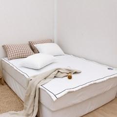 쏘쿨 접촉냉감 여름 침대패드 겸 카페트(S/Q/K)