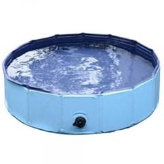 상상공간 무더운 여름 필수품 반려견 강아지 접이식 욕조 수영장