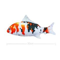 물고기 고양이 캣닢 장난감 용품 30cm (비단잉어)_(301873305)