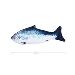 물고기 고양이 캣닢 장난감 용품 20cm (등푸른생선)_(301873304)