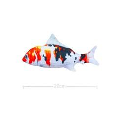 물고기 고양이 캣닢 장난감 용품 20cm (비단잉어)_(301873301)