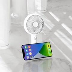 [무아스] 스마트폰 거치대 휴대용 선풍기 MF-P5