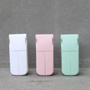 마스코타 듀얼팬 휴대용 폴딩 핸디 선풍기
