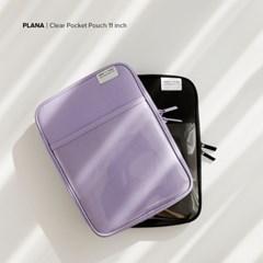 PLANA 클리어 포켓 아이패드 태블릿 PC 파우치 11인치 7세대 6세대