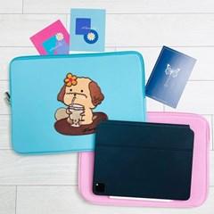 안나슬리 버블티포슬이 컬러 노트북파우치 11,13,14,15,16,17 인치