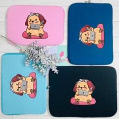 안나슬리 재택근무포슬이 컬러 노트북파우치 11,13,14,15,16,17 인치