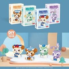 나노블럭 미니레고 디즈니 직소 퍼즐 조립 set