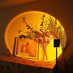 만달라키 노을 무드등 스튜디오조명 사각형 120cm레드