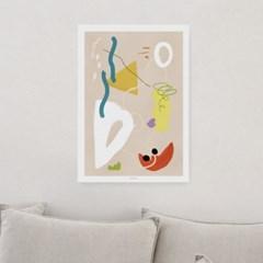 일러스트 포스터 / 인테리어 액자_abstraction 01