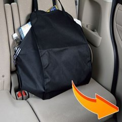 자동차 뒷좌석 가방 대용량 수납 차량용 마트 장바구니 캠핑가방