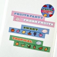 Fruits Masking Tape