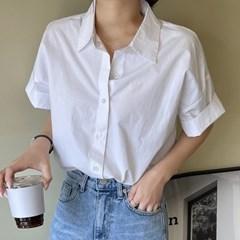 겟잇미 호아 내추럴 기본 반팔 셔츠