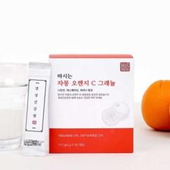경성건강원 자몽 오렌지 C 그래뉼 스틱 28포