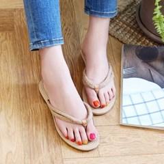Woman summer 굽2cm basic 쪼리 2color CH1733731