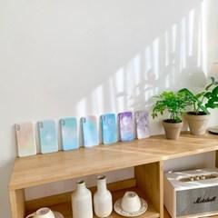 머큐리유니크 LG 파스텔 물빛 컬러 하드케이스18