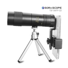 소라스코프 스마트폰 망원렌즈 10-120 삼각대 포함