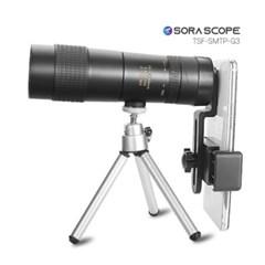 소라스코프3 스마트폰 망원렌즈 10-30  삼각대 포함