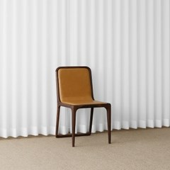 [헤리티지월넛] V형 의자 카멜_(1788827)