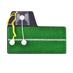 실내 실외용 조립식 골프 스윙 연습 매트