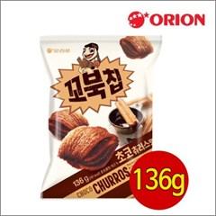 오리온 꼬북칩 초코츄러스맛 136gx6