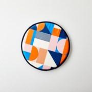 [모던하우스] ON 피코 원형벤치방석 오렌지