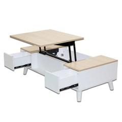 가구데코 블룸 양서랍형 리프트 테이블 CH2018