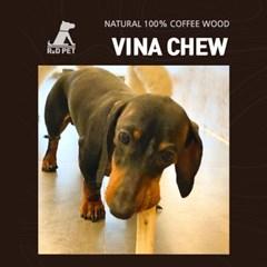 알디펫 강아지 우드스틱 치석제거 100% 커피나무