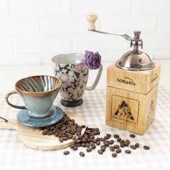 커피 그라인더 자석 핸드밀 가정용 수동 원두분쇄기