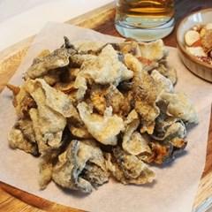 바삭한 황태 껍질 부각 황태 껍데기 튀각 100g