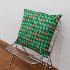 PANSY (Orange) 비비드 클래식 쿠션 50x50_(1590688)