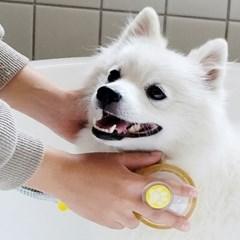 아토젯 반려동물전용 마이펫 비타민C샤워기+케어브러쉬