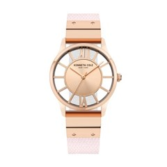 케네스콜 여성 양면 가죽밴드 손목시계 KCWLA2106003