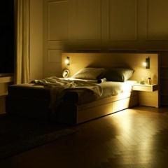 트리빔하우스 에리스 본넬스프링 서랍형 침대 Q+협탁 2EA_TB21F123
