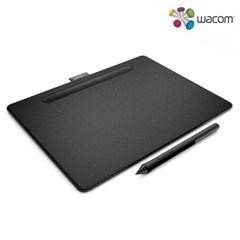 와콤 블루투스 중형타블렛 인튜어스 CTL-4100WL 블랙, 그린, 핑크