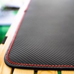 코리스 차박캠핑 무광 카본 테이블 매트 XL
