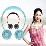 캠핑 목걸이 넥밴드 무선 USB 쿨링 선풍기