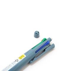 (Limited)클립온 C시리즈 4컬러+샤프 멀티펜-블루그레이바디