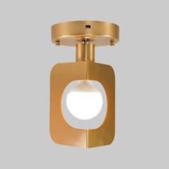 LED 벽등 샤키 1등 브론즈 카페 매장조명_(2053365)